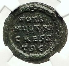 CRISPUS son of Constantine I the Great  Authentic Ancient Roman Coin NGC i76304