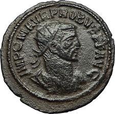 PROBUS w Jupiter Authentic Ancient Original 276AD Antioch Roman Coin i67716