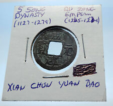 1265AD CHINESE Southern Song Dynasty Genuine DU ZONG Cash Coin of CHINA i72582