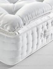 Luxury Salute 10000 Pocket Sprung Pillowtop Mattress With Wool