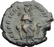 EUDOXIA Arcadius Wife 400AD Authentic Ancient Roman Coin HAND OF GOD i64940