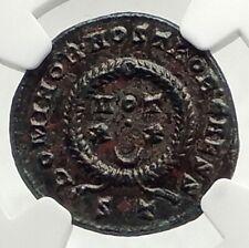 CONSTANTINE II Jr Authentic Ancient 322AD Genuine Original Roman Coin NGC i76318