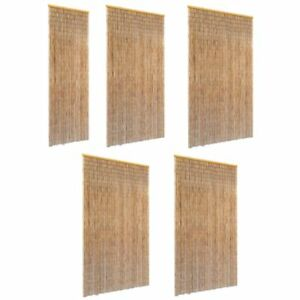 rideau porte bambou ebay