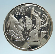 2003 GERMANY Munich Museum Tech Aerospace Genuine Proof Silver 10EU Coin i75335