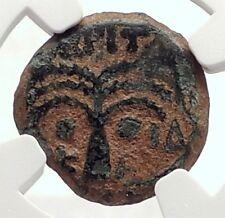 BRITANNICUS NERO Antonius Felix Jerusalem Ancient Roman CLAUDIUS Coin NGC i70832