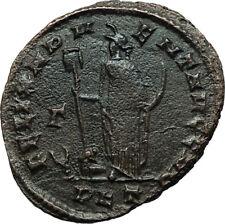 CONSTANTIUS I Chlorus 297AD Follis Nummus Authentic Ancient Roman Coin i66484