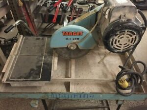 MK Diamond MK-101-24 1-12 HP 10-Inch Wet Cutting Tile Saw. Target Saw In Industrial Masonry Tile Saws For Sale Ebay
