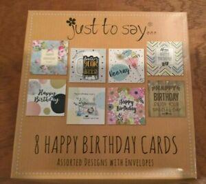 Box Of Birthday Cards For Sale Ebay