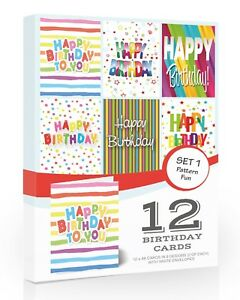 Multi Pack Birthday Cards For Sale Ebay