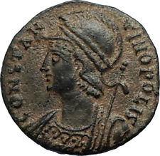 CONSTANTINE I the GREAT Founds Constantinople Original Ancient Roman Coin i67523