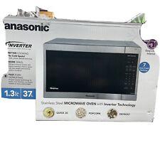 panasonic nn sn668s 1200w inverter microwave oven stainless steel