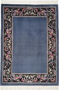 art deco teppich in antike asiatische