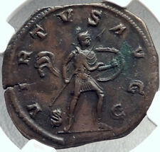 GORDIAN III 238AD Rome Sestertius Authentic Ancient Roman Coin VIRTVS NGC i68717