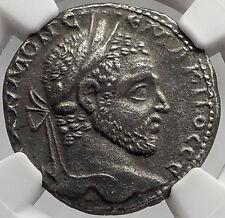 MACRINUS 217AD Ancient Roman Billon TETRADRACHM of Emesa Roman Coin NGC i61965