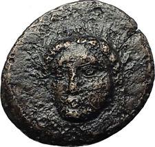 GRYNION or Gyrneion Aeolis 306BC Apollo Shell RARE Ancient Greek Coin i67920