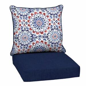blue floral patio furniture cushions