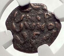 Biblical Jerusalem Saint Paul NERO Time PORCIUS FESTUS Ancient Roman Coin i70633