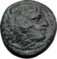 ALEXANDER III the Great 325BC Macedonia Ancient Greek Coin HERCULES CLUB i64609