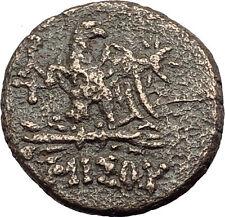 AMISOS in PONTUS - Mithradates VI the Great Ancient Greek Coin ZEUS EAGLE i62839