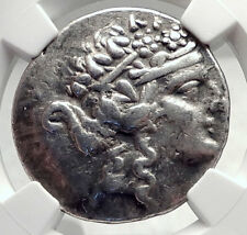 THASOS Thrace 148BC Authentic Ancient Silver Greek Tetradrachm Coin NGC i72618