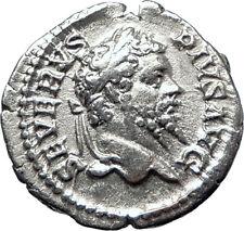 SEPTIMIUS SEVERUS 193AD Silver Authentic  Ancient Roman Coin Felicitas i70189