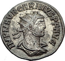 CARINUS Carus son Numerian brother 283AD Ancient Roman Coin JUPITER ZEUS i65093