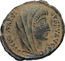 Divus Saint CONSTANTINE I the GREAT 347AD Authentic Ancient Roman Coin i67019