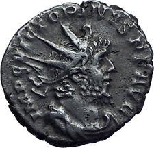 VICTORINUS Authentic Ancient 268AD Cologne Gallic Empire Roman Coin PAX i71770