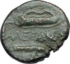 ALEXANDER III the GREAT 336BC Macedonia Ancient Greek Coin HERCULES CLUB i68832