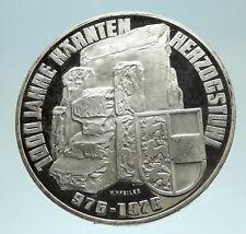 1976 AUSTRIA Carinthia Monument Stones Genuine Silver 100 Schilling Coin i76814