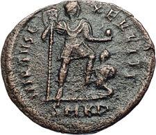 ARCADIUS Tramples CAPTIVE 383AD Cyzicus Authentic Ancient Roman Coin i68073