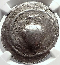 TERONE in MACEDONIA Rare R2 Ancient SIlver Tetradrachm Greek Coin NGC i69810