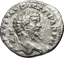 SEPTIMIUS SEVERUS 197AD Rome Silver Authentic Ancient Roman Coin Victory i69465