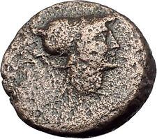 TEMNOS in AEOLIS 2-1CenBC ATHENA PROMACHOS Authentic Ancient Greek Coin i63111