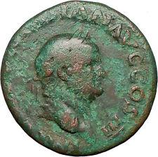 VESPASIAN 71AD Ancient Roman Coin Aequitas Cult  Fair trade Equality  i25156