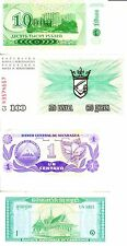 4 Miscellaneous Banknotes LOT  i7622