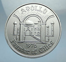1978 Medal / Token for KREWE of APOLLO Lockport Carnival Club Louisiana i67544