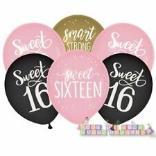 Sweet 16 Sixteen Birthday Party Supplies Hanging Foil Swirl Decorations 12pcs Home Garden Party Supplies