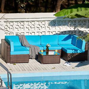 blue clip patio garden furniture sets