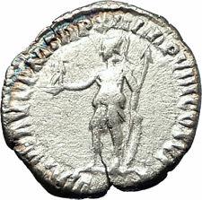 COMMODUS son of Marcus Aurelius 177AD Silver Ancient  Roman Coin Virtus i76523