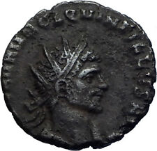 QUINTILLUS Authentic Ancient 270AD Rome Genuine Roman Coin SECURTIAS i71771