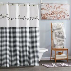 dog curtains in shower curtains for