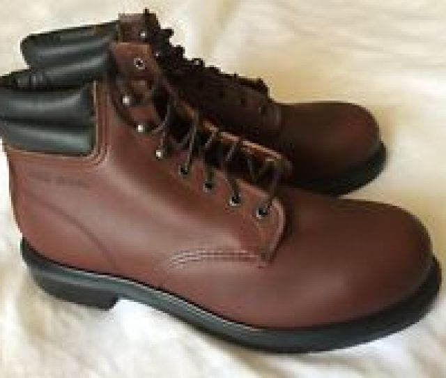 Red Wing  Safety Boots Steel Toe Made In Usa Brand New Size   Ee