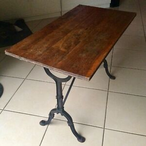 table bistrot ancienne ebay
