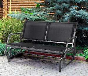 metal glider chair products for sale ebay