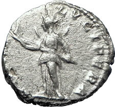 JULIA DOMNA 196AD Ancient Silver Roman Coin Diana Lucifera Torch Hope i70366