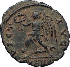 CONSTANTIUS II Authentic Ancient 342AD Antioch RARE Roman Coin w VICTORY i71000
