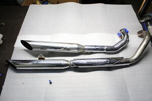 motorcycle exhaust pipes for yamaha v