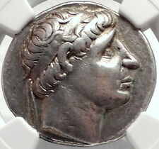 ANTIOCHOS II Theos Seleukid Ancient Silver Tetradrachm Greek Coin NGC i68744