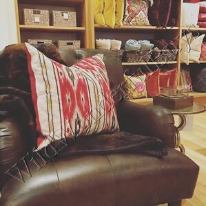 pottery barn ikat in home decor pillows
